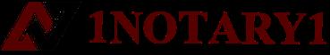 1Notary1 Logo
